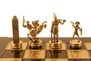 schaakstukken  poseidon detail